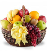 Get Well Fruit Basket Delivery To