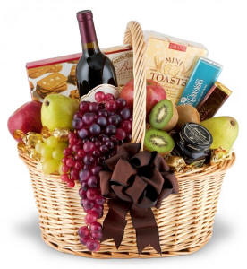 Elegance To Spare Wine, Fruit and Gourmet $109.95