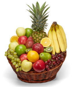 All fruit basket same day delivery