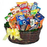 Lake Geneva Junk Food Birthday Basket 4495