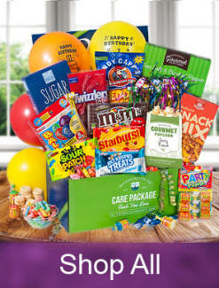 Care Packages For College, Miliary and Students