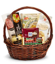 Delightfully Gourmet Gift Basket - Same Day Delivery Available Today