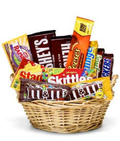 Candy Gift Basket Delivery