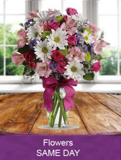 Fresh flowers delivered daily nationwide delivery for a birthday, anniversary, get well, sympathy or any occasion
