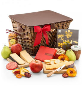 Fruit and Cheese Gift Basket Hamper