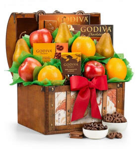 Fruit and Godiva Chocolates 69.95