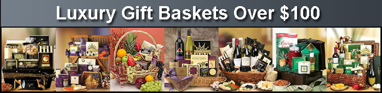 Luxury Wine and Champagne Gift Baskets