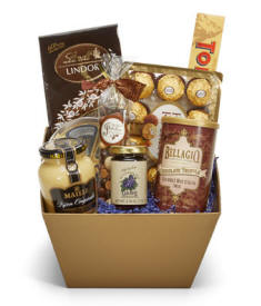 Perfectly Decadent Gourmet Gift Basket
