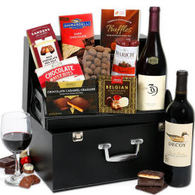 Red Wine Suitcase