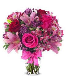 Roses and Lilies Flower Bouquet