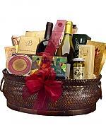 Last Minute Wine Baskets