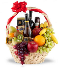 The Premium Selection $129.95 Same day Wine Baskets Delivery