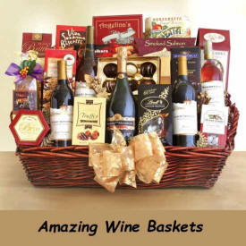 Wine Baskets Next Day Delivery